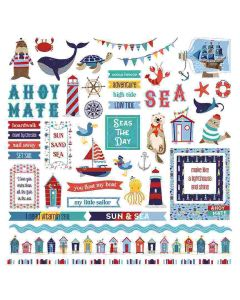 Monterey Bay Element Stickers - Becky Moore - PhotoPlay*