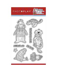 """Monterey Bay 4"""" x 6"""" Stamp - Becky Moore - PhotoPlay*"""