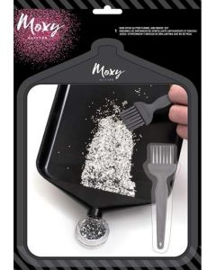 Moxy Glitter Funnel & Brush Set