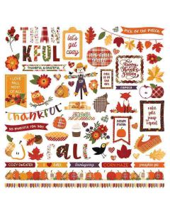 Mad 4 Plaid Fall Stickers - Becky Fleck Moore - PhotoPlay