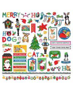 Muttcracker Stickers - Becky Fleck Moore - PhotoPlay