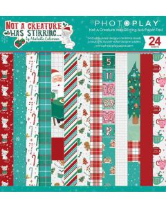 """Not A Creature Was Stirring 6"""" x 6"""" Paper Pad - PhotoPlay"""