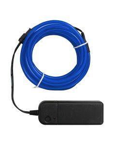 Big Happy Jig Neon Blue Wire