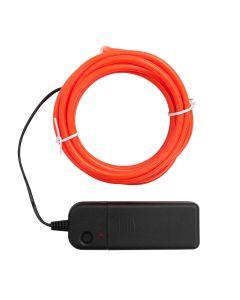 Big Happy Jig Neon Orange wire
