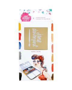 Neutrals Watercolors Set - ArtEssentials - Jane Davenport - Spellbinders