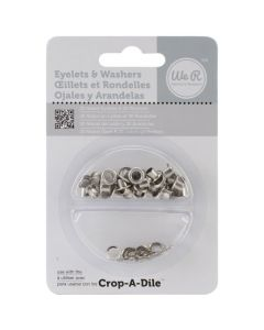 We R Memory Keepers Eyelets and washers - White