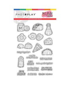 Foodie Stamps - No Pun Intended - Becky Fleck - PhotoPlay