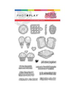 Sweets Stamps - No Pun Intended - Becky Fleck - PhotoPlay