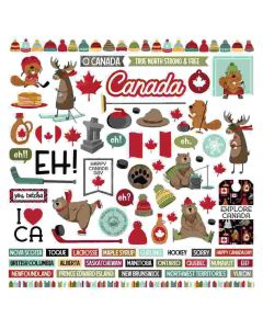 O Canada 2 Element Stickers - PhotoPlay