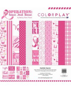 Operation Save 2nd Base Paper Pack - Becky Fleck Moore - PhotoPlay