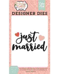 Just Married Word #2 Dies - Our Wedding - Echo Park