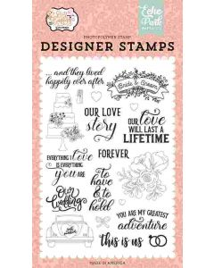Our Love Story Stamps - Our  Wedding - Echo Park