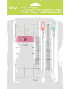 Paper Crafting Tool Bundle including piercing tool, mat, distress set, and self healing mat