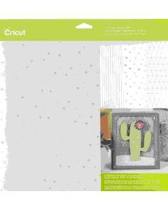 Pastel Acetate Sampler Cricut paper stack