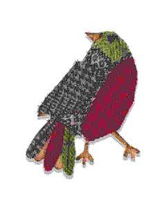 Patchwork Bird Bigz Die - Tim Holtz - Sizzix