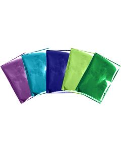 Peacock Foil Sheets
