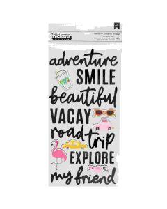 Jen Hadfield Chasing adventures stickers