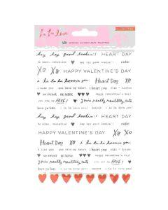Phrase Stickers La La Love