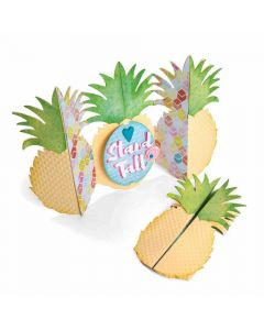 Jen Long Fold-A-Long Pineapple card