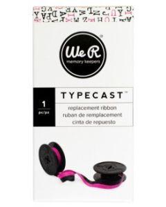 Light Pink & Black typecast ribbon
