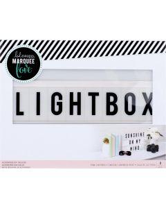 Heidi Swapp Pink Lightbox