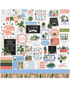 Plant Lady Element Stickers - Echo Park*