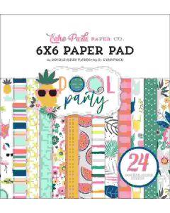 "Pool Party 6"" x 6"" Paper Pad - Echo Park*"