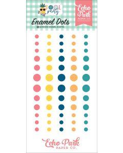 Pool Party Enamel Dots - Echo Park*