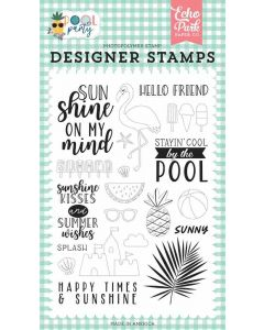 Sunshine Kisses Stamps - Pool Party - Echo Park*