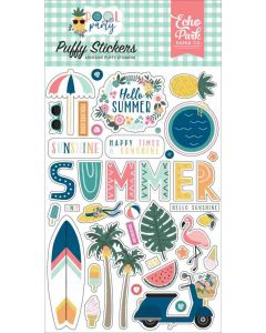 Pool Party Puffy Stickers - Echo Park*
