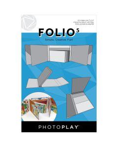 """White Folio5 Album Kit, 5.5"""" x 7"""" - PhotoPlay"""