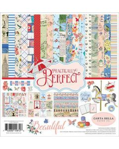 Practically Perfect Scrapbook Stack