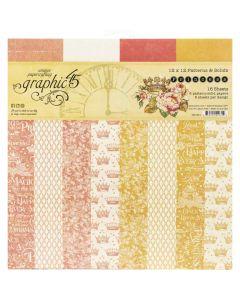 Princess & Patterns 12 x 12 paper stack