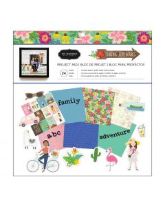 Chasing Adventures 12 x 12 Project Pad by Jen Hadfield