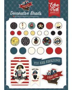 Echo Park Pirate Tales Decorative Brads