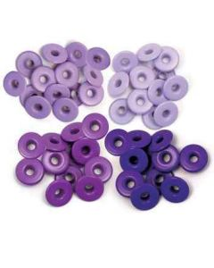 We R Memory Keepers Wide Eyelets - Purple