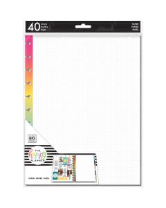 MAMBI rainbow dotted grid Big Planner sheets