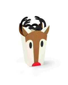 Reindeer Bag Thinlits Die Set - Jordan Caderao - Sizzix