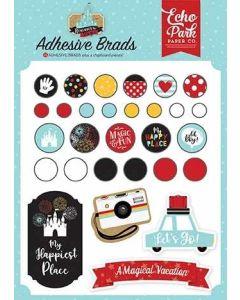Remember the Magic Adhesive Brads - Echo Park*