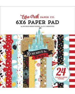 "Remember the Magic 6"" x 6"" Paper Pad - Echo Park*"