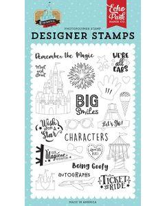 Remember the Magic Stamp Set - Echo Park*