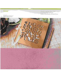 Rose Gold Leather Material