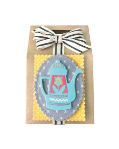 Sharyn Sowell Coffee Brewing Spellbinders Die