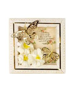 Flutter Wing Shadowbox Butterflies Project