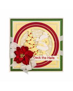 Layered Santa Claus Etched Dies - 3D Holiday Vignettes - Becca Feeken - Spellbinders