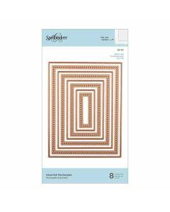 Rectangles Dies - Modern Essentials - Nestabilities - Spellbinders*