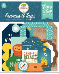 Summer Adventure Frames & Tags - Lori Whitlock - Echo Park