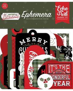Salutations Christmas Ephemera - Echo Park
