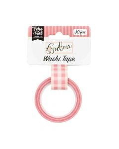 Pink Buffalo Plaid Washi Tape - Salon - Echo Park