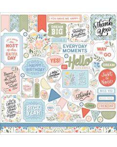 Salutations No.1 Element Stickers - Echo Park*
